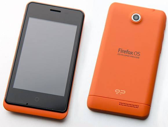 Geeksphone Keon running Firefox OS available in stores today
